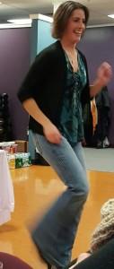 Tanya dancing